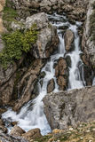 Birth river Castril. Birth cascading river Castril natural setting Stock Photography