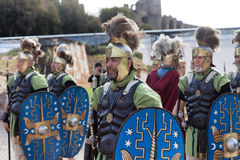 Birth Of Rome Festival 2015 Stock Photo