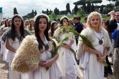 Birth Of Rome Festival 2015 Stock Photo