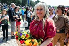 Birth Of Rome Festival 2015 Royalty Free Stock Photos