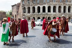 Birth Of Rome Festival 2015 Royalty Free Stock Photography
