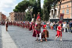 Birth Of Rome Festival 2015 Stock Photos