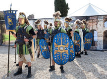Birth Of Rome Festival 2015 Royalty Free Stock Photo