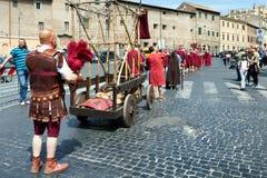 Birth Of Rome Festival 2015 Stock Image