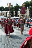 Birth Of Rome Festival 2015 Stock Image