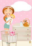Birth a sissy Stock Images