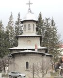 Birth of Virgin Mary Royal Church from Busteni (Prahova), Romania Stock Photography