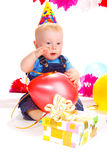 Birthday baby Stock Image