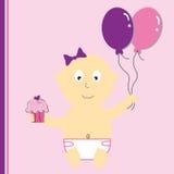 Birthday Baby Stock Image