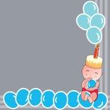 Birthday baby Royalty Free Stock Photos