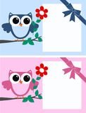 Birthday or baby shower. Happy birthday or baby shower cards Royalty Free Stock Photo