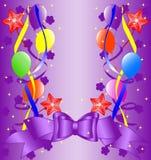 Birthday background. vector illustration