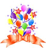 Birthday background Royalty Free Stock Photos
