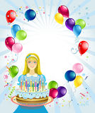 Birthday  background Stock Photography