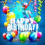 Birthday background Royalty Free Stock Photo