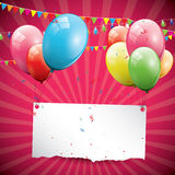Birthday background Stock Photo