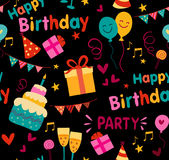 Birthday background Stock Images