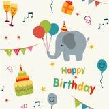 Birthday background Stock Image