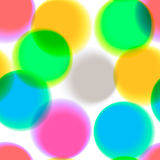 Birthday background confetti, element for design Royalty Free Stock Photo
