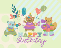 Birthday background Royalty Free Stock Image
