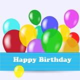 Birthday background royalty free illustration