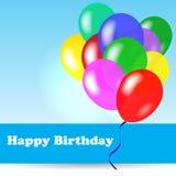 Birthday background stock illustration