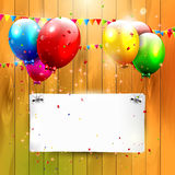 Birthday background Stock Image