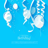 Birthday background Royalty Free Stock Photography