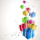 Birthday background Stock Photography