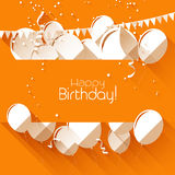 Birthday background Stock Photos