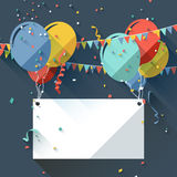 Birthday background Royalty Free Stock Images