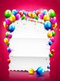 Birthday background Royalty Free Stock Image