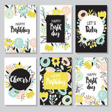 Birthday Backgrounds Royalty Free Stock Image