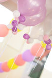 Birthday ballon. Colorful ballon in a birthday party Royalty Free Stock Photos