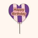 Birthday ballon theme elements vector,eps. Vector illustration file Royalty Free Stock Photos