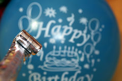 Birthday balloon Royalty Free Stock Images