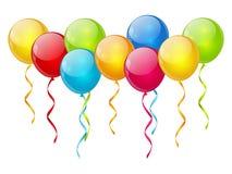 Birthday balloon background Stock Photography