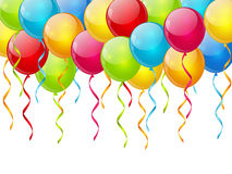 Birthday balloon background Royalty Free Stock Images