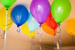 Birthday balloones Royalty Free Stock Photos