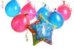 Birthday balloons Stock Image