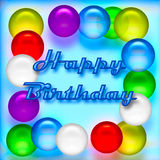 Birthday balloons Royalty Free Stock Images