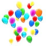 Birthday balloons Royalty Free Stock Image