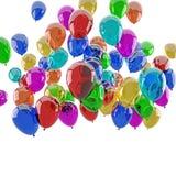 Birthday balloons Royalty Free Stock Photo
