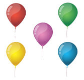 Birthday Baloons Stock Image