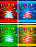 Birthday banner Royalty Free Stock Images