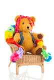 Birthday bear Royalty Free Stock Images