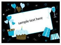 Birthday border Royalty Free Stock Images