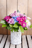 Birthday bouquet of flowers Royalty Free Stock Images