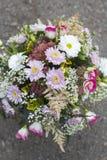 Birthday bouquet royalty free stock photos