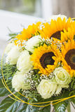 Birthday bouquet royalty free stock photo